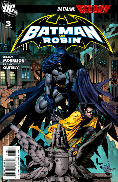 Cover for Batman and Robin (DC, 2009 series) #3 [Standard Cover]