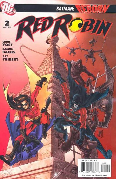 Cover for Red Robin (DC, 2009 series) #2