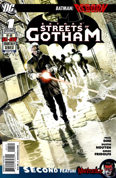 Cover for Batman: Streets of Gotham (DC, 2009 series) #1 [Standard Cover]