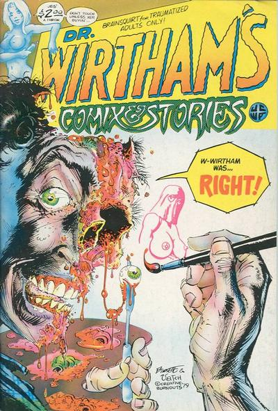 Cover for Dr. Wirtham's Comix & Stories (Clifford Neal, 1976 series) #5/6