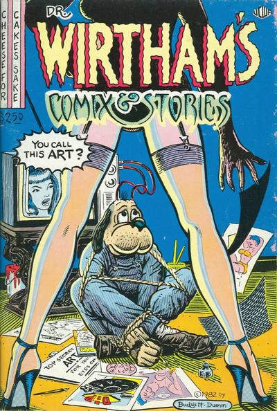 Cover for Dr. Wirtham's Comix & Stories (Clifford Neal, 1976 series) #7/8