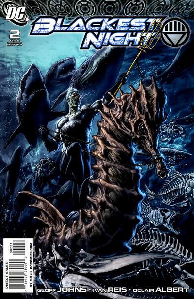 Cover for Blackest Night (DC, 2009 series) #2 [Ivan Reis Cover]