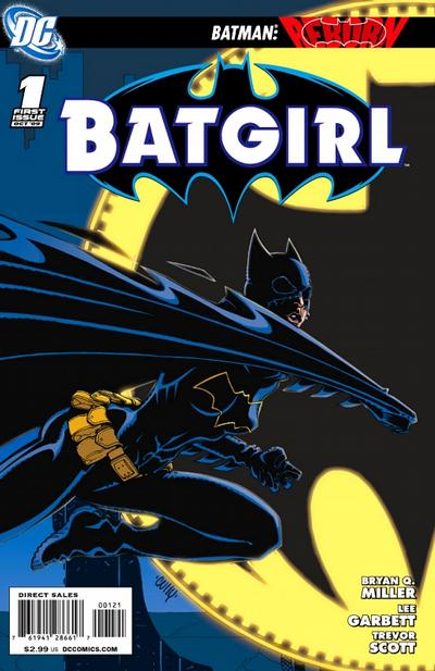 Cover for Batgirl (DC, 2009 series) #1