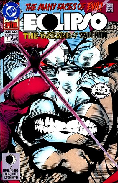 Cover for Eclipso: The Darkness Within (DC, 1992 series) #1