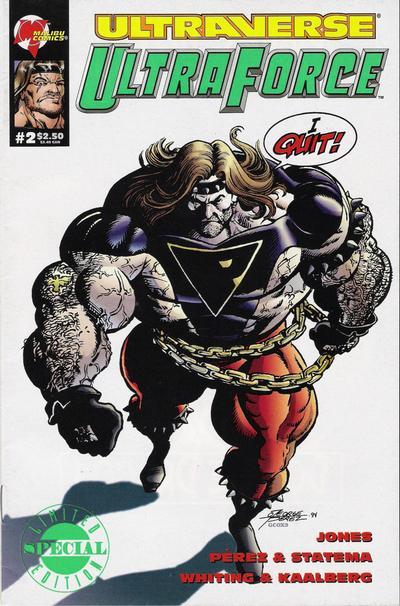 Cover for UltraForce (Malibu, 1994 series) #2 [Regular Edition]
