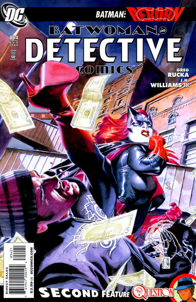 Cover for Detective Comics (DC, 1937 series) #854 [Second Printing]