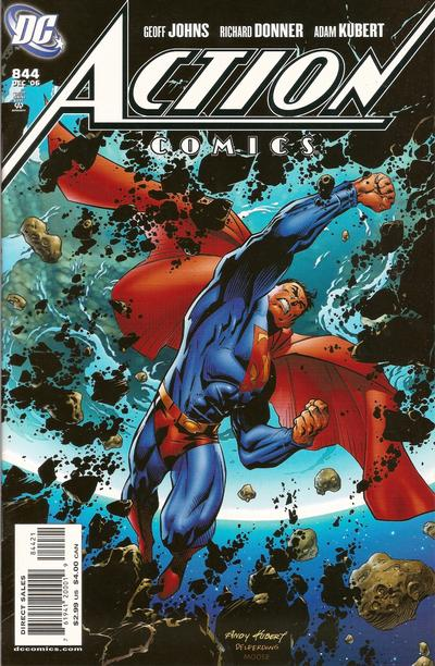 Cover for Action Comics (DC, 1938 series) #844 [2nd Printing]