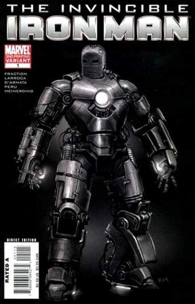 Cover for Invincible Iron Man (Marvel, 2008 series) #1 [Marko  Djurdjevic]