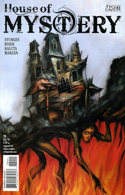 Cover for House of Mystery (DC, 2008 series) #20