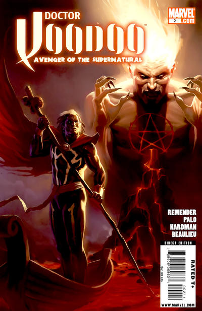 Cover for Doctor Voodoo: Avenger of the Supernatural (Marvel, 2009 series) #2