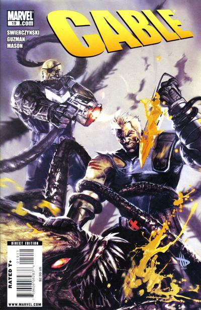 Cover for Cable (Marvel, 2008 series) #19