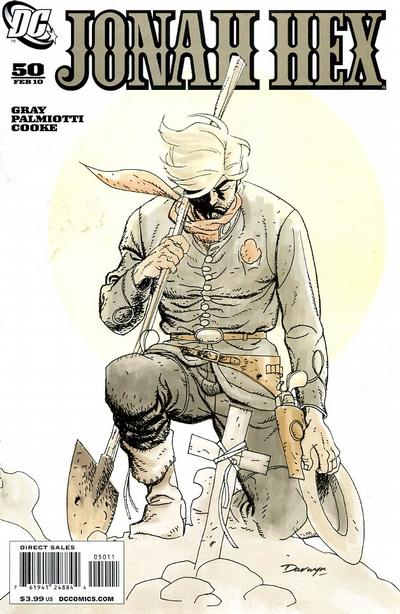 Cover for Jonah Hex (DC, 2006 series) #50