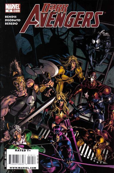 Cover for Dark Avengers (Marvel, 2009 series) #10