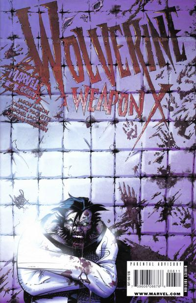 Cover for Wolverine Weapon X (Marvel, 2009 series) #6 [Joe Kubert Cover]