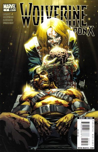 Cover for Wolverine Weapon X (Marvel, 2009 series) #7