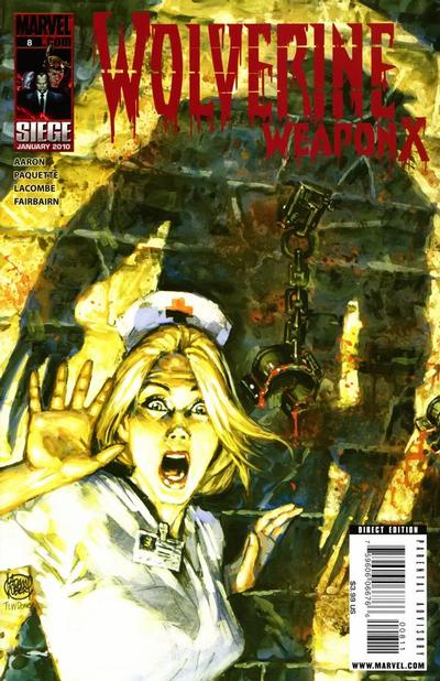 Cover for Wolverine Weapon X (Marvel, 2009 series) #8