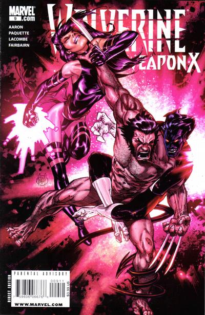 Cover for Wolverine Weapon X (Marvel, 2009 series) #9