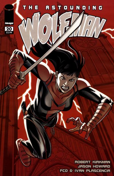 Cover for The Astounding Wolf-Man (Image, 2007 series) #20