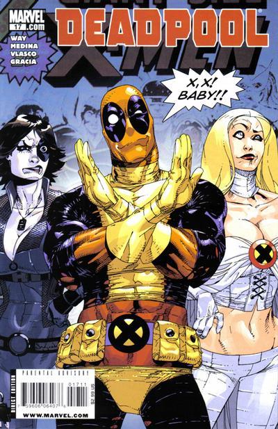 Cover for Deadpool (Marvel, 2008 series) #17 [2nd Print Variant]
