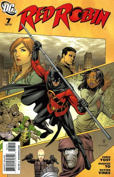 Cover for Red Robin (DC, 2009 series) #7