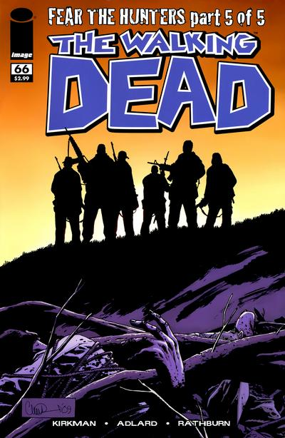 Cover for The Walking Dead (Image, 2003 series) #66