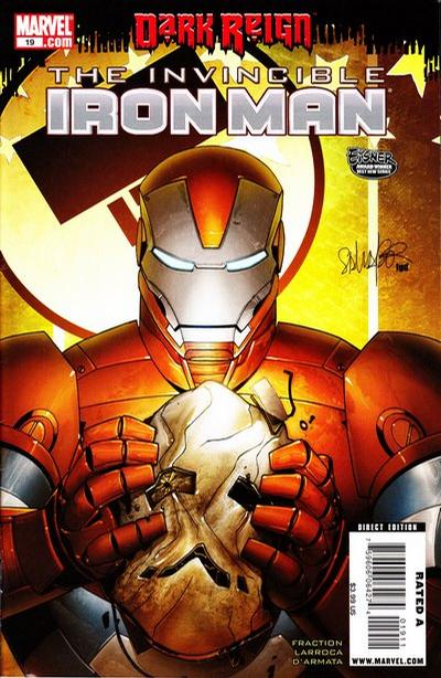 Cover for Invincible Iron Man (Marvel, 2008 series) #19