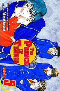 Cover Thumbnail for The Prince of Tennis (Viz, 2004 series) #5