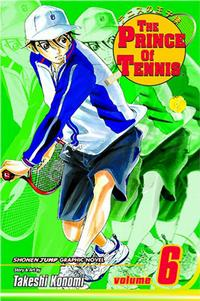 Cover Thumbnail for The Prince of Tennis (Viz, 2004 series) #6