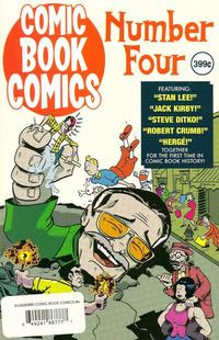Cover Thumbnail for Comic Book Comics (Evil Twin Comics, 2008 series) #4