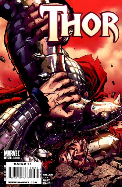 Cover for Thor (Marvel, 2007 series) #606