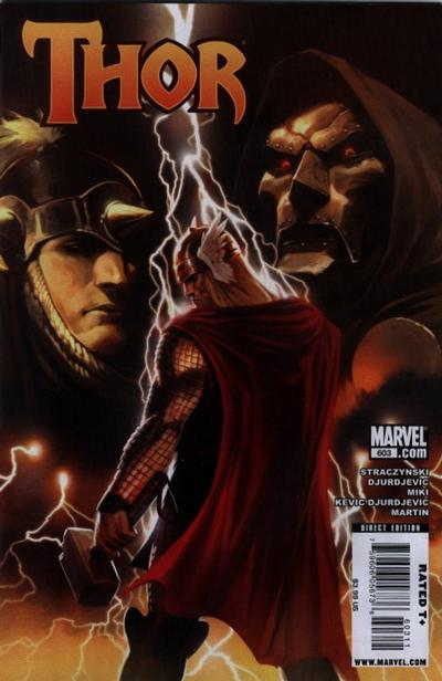 Cover for Thor (Marvel, 2007 series) #603