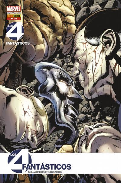 Cover for Los 4 Fantásticos (Panini España, 2008 series) #24