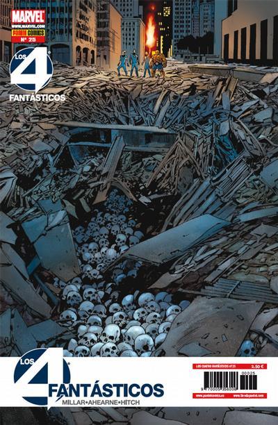 Cover for Los 4 Fantásticos (Panini España, 2008 series) #25