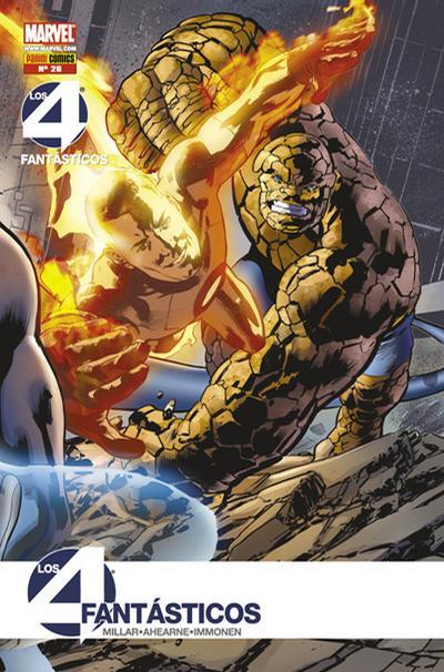 Cover for Los 4 Fantásticos (Panini España, 2008 series) #26