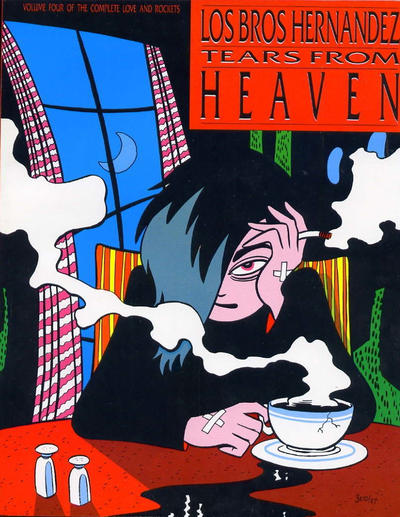 Cover for The Complete Love & Rockets (Fantagraphics, 1985 series) #4 - Tears from Heaven