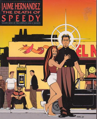 Cover for The Complete Love & Rockets (Fantagraphics, 1985 series) #7 - The Death of Speedy [1st Edition]