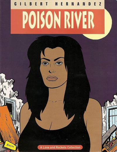 Cover for The Complete Love & Rockets (Fantagraphics, 1985 series) #12 - Poison River