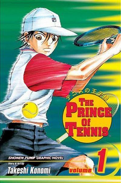 Cover for The Prince of Tennis (Viz, 2004 series) #1