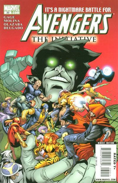 Cover for Avengers: The Initiative (Marvel, 2007 series) #30