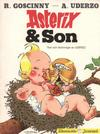 Cover for Asterix (Hemmets Journal, 1970 series) #27 - Asterix & son