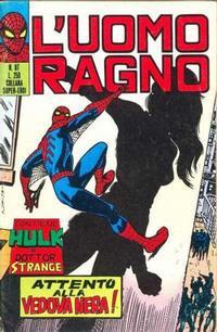 Cover Thumbnail for L'Uomo Ragno [Collana Super-Eroi] (Editoriale Corno, 1970 series) #87