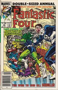 Cover Thumbnail for Fantastic Four Annual (Marvel, 1963 series) #19 [Newsstand Edition]
