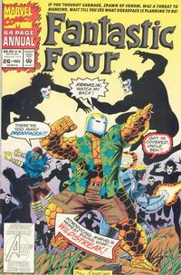 Cover Thumbnail for Fantastic Four Annual (Marvel, 1963 series) #26 [Direct]