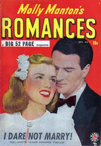 Cover Thumbnail for Molly Manton's Romances (Marvel, 1949 series) #1
