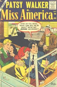 Cover Thumbnail for Miss America (Marvel, 1953 series) #90