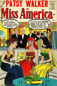 Cover Thumbnail for Miss America (Marvel, 1953 series) #91