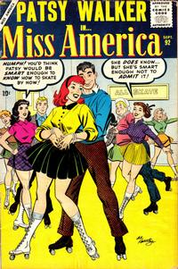 Cover Thumbnail for Miss America (Marvel, 1953 series) #92