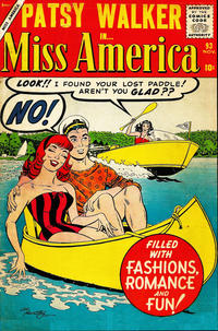 Cover Thumbnail for Miss America (Marvel, 1953 series) #93