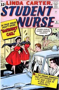 Cover for Linda Carter, Student Nurse (Marvel, 1961 series) #8