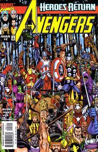 Cover Thumbnail for Avengers (Marvel, 1998 series) #2 [Regular Direct Edition]